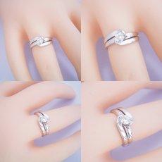 画像5: ダイヤモンドを優しく包み込む婚約指輪 (5)