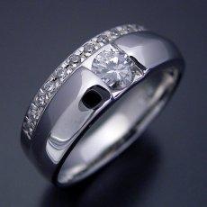 画像3: エタニティリングと組み合わせた婚約指輪 (3)