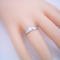 画像5: エタニティリングと組み合わせた婚約指輪 (5)