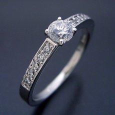 画像2: 豪華で可愛い婚約指輪 (2)