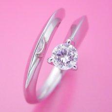 画像3: スッキリとしてシンプルな婚約指輪 (3)