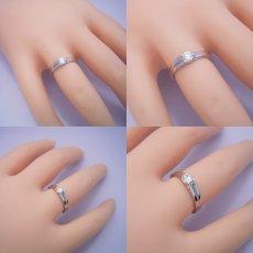 画像4: 背中がセクシーな婚約指輪 (4)