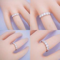 画像4: 一番お気に入りのハーフエタニティリングの婚約指輪 (4)