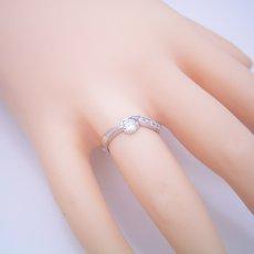画像5: シンプルで相当スタイリッシュな婚約指輪 (5)