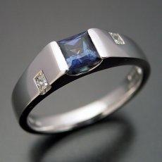 画像2: アレキサンドライトの婚約指輪 (2)