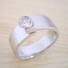 画像6: シンプルでスタイリッシュな婚約指輪「Kiwami type Six」 (6)