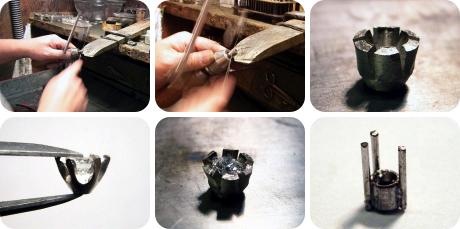 誕生石を入れる事が出来る婚約指輪