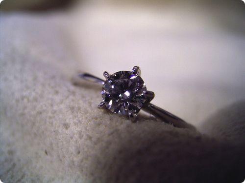 婚約指輪が出来るまで