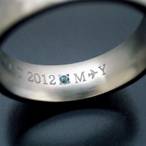 婚約指輪・結婚指輪の刻印印字サービス