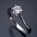 アームデザインが新しいティファニーセッティングの婚約指輪[BE-59]