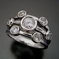 身に着ける人を選ぶ大人の婚約指輪[R3951]