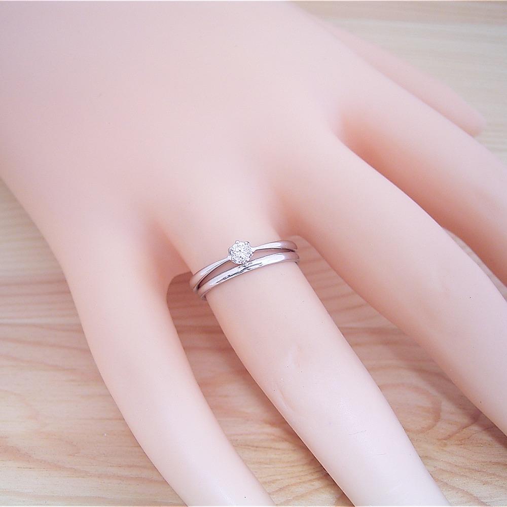 婚約指輪・結婚指輪 ブライダルリング3点セット