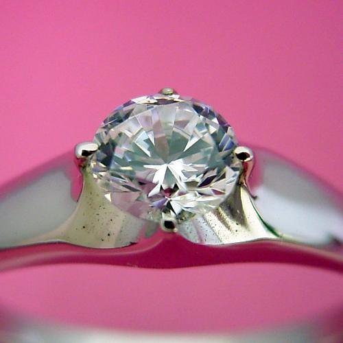 画像1: 雫の王冠をイメージした婚約指輪 (1)