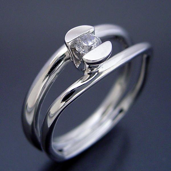 画像1: 雑貨感覚の婚約指輪 (1)