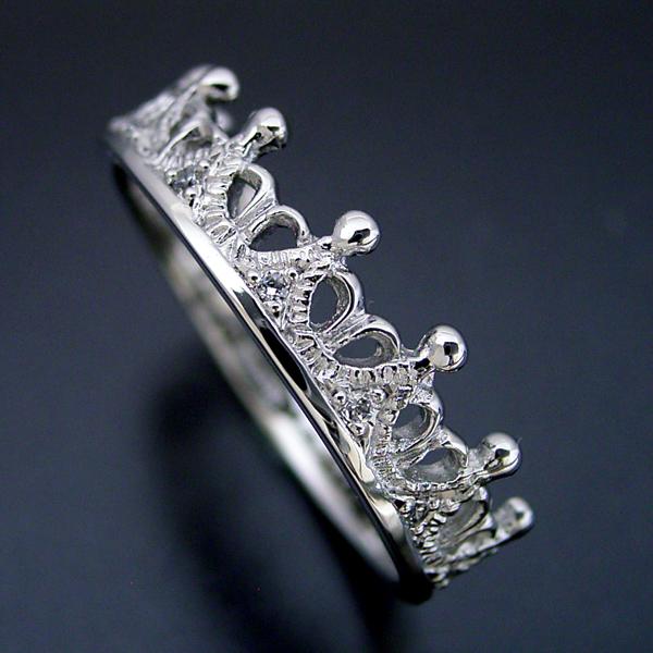 「ミルクに一滴の雫」がキーワードの結婚指輪 [No7641]