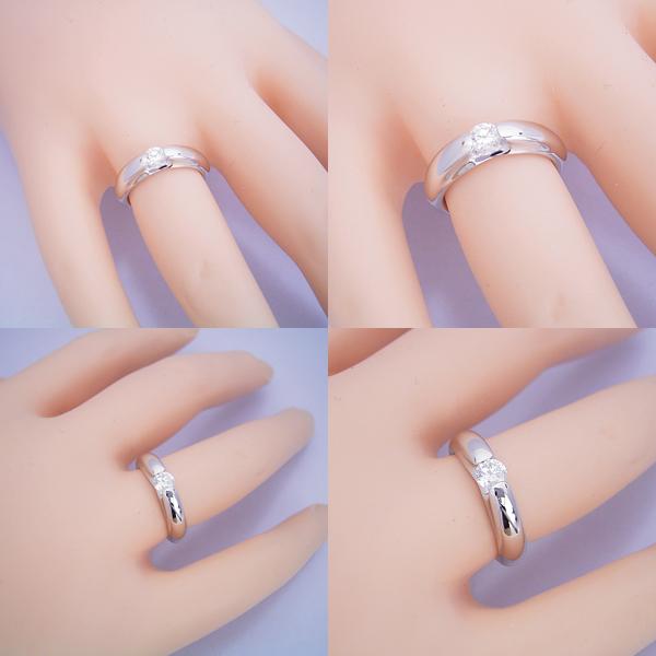 2人にだけ分かる秘密を持った婚約指輪