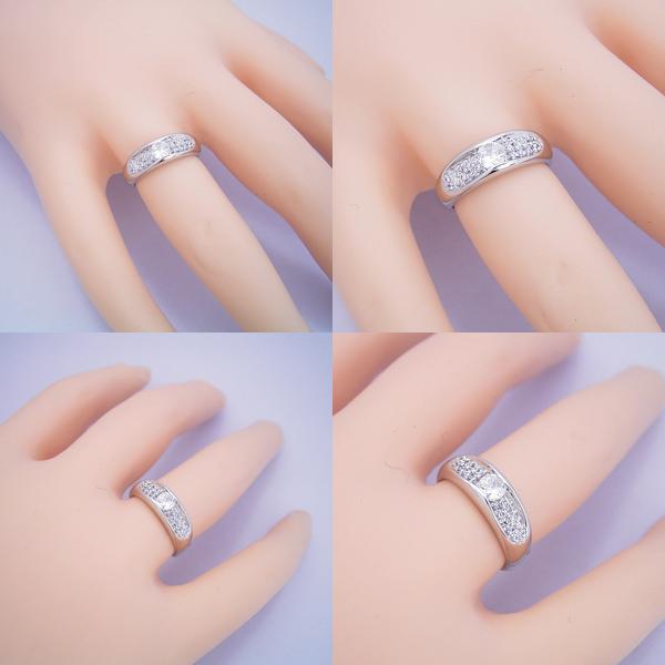 メレダイヤモンドも主役の婚約指輪