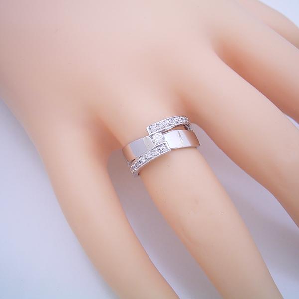 ごつくてゴージャスな婚約指輪