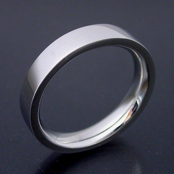 画像1: 平打ちタイプの結婚指輪「極(きわみ)平打ち type  2」 (1)