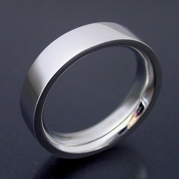 画像1: 平打ちタイプの結婚指輪「極(きわみ)甲丸 type  3」 (1)