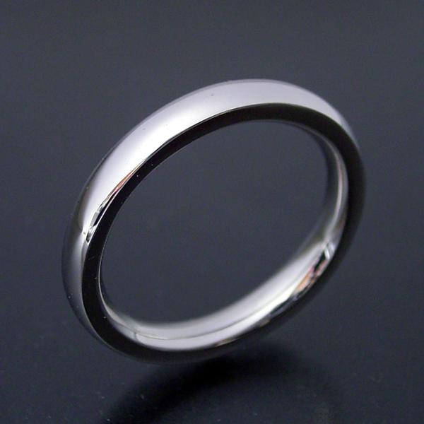 画像1: 甲丸タイプの結婚指輪「極(きわみ)甲丸 type  1」 (1)