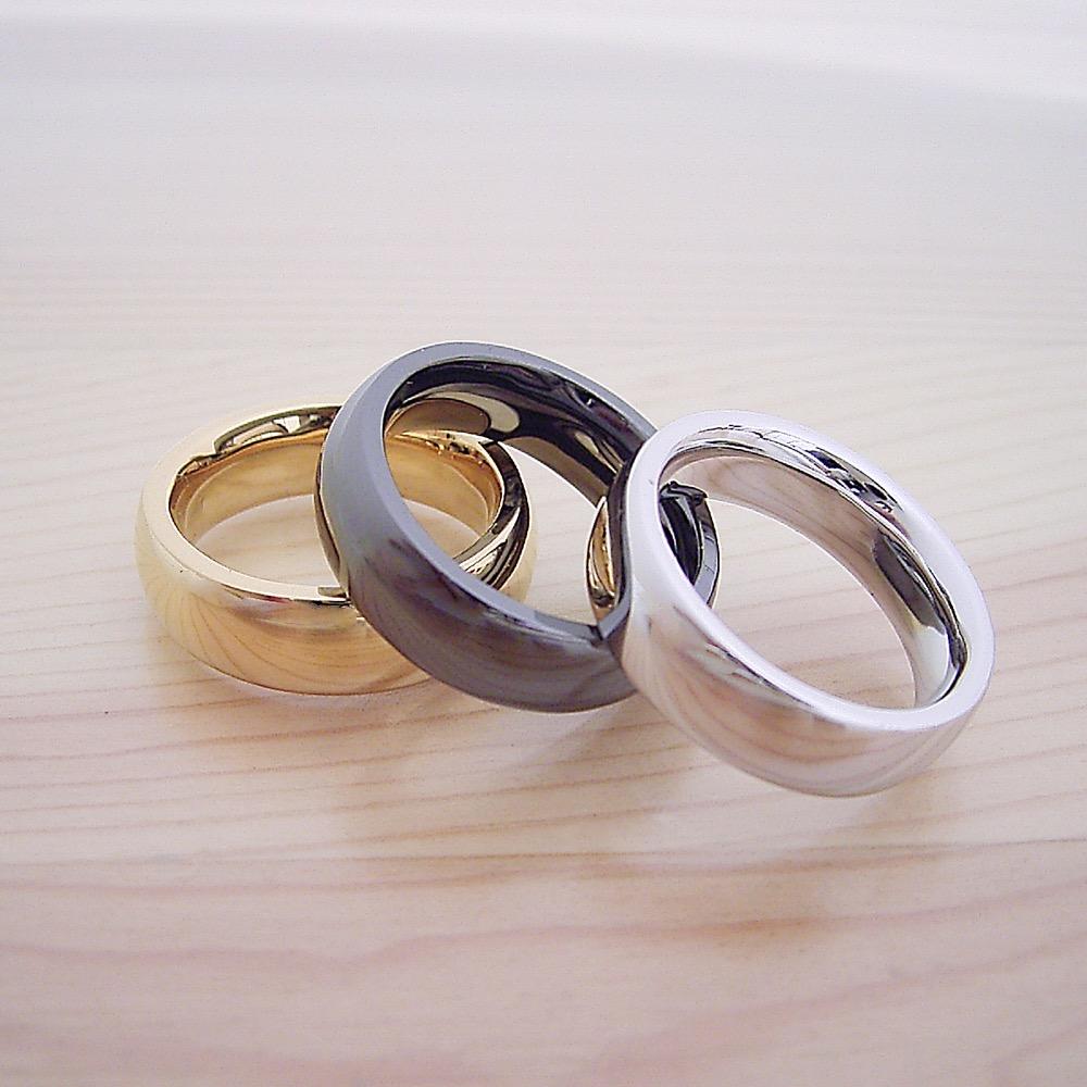 最高に気持ちが良い着け心地の結婚指輪「一つの指輪〜ジェットブラックモデル〜」