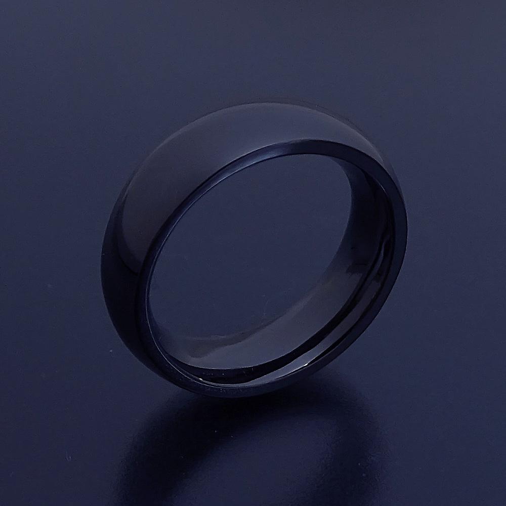 画像1: 最高に気持ちが良い着け心地の結婚指輪「一つの指輪〜ジェットブラックモデル〜」 (1)